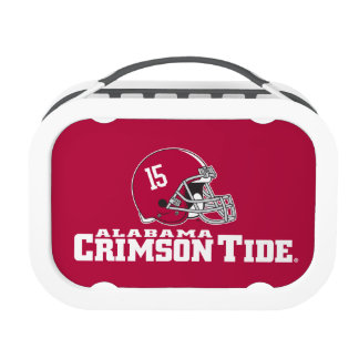 Alabama Crimson Tide Football Helmet Lunch Box
