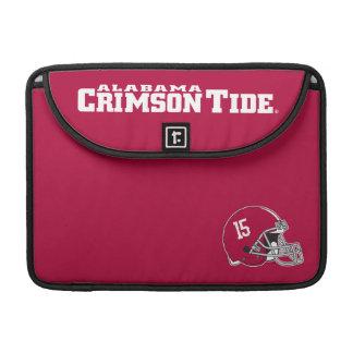 Alabama Crimson Tide Football Helmet MacBook Pro Sleeve