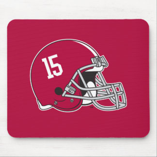 Alabama Crimson Tide Football Helmet Mouse Pad