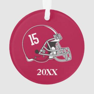 Alabama Crimson Tide Football Helmet Ornament