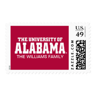 Alabama Crimson Tide Football Helmet Postage