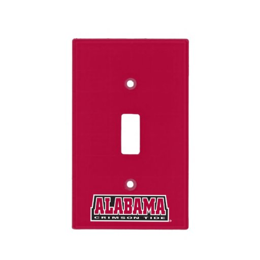 Alabama Crimson Tide Light Switch Cover Zazzle