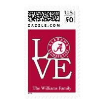 Alabama Crimson Tide Love 2 Postage