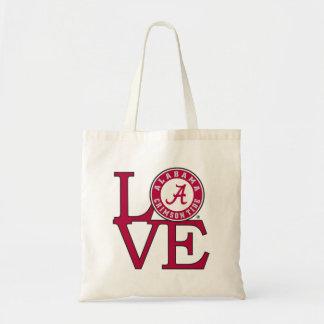 Alabama Crimson Tide Love Budget Tote Bag