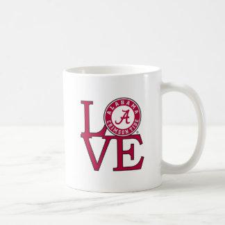 Alabama Crimson Tide Love Coffee Mug