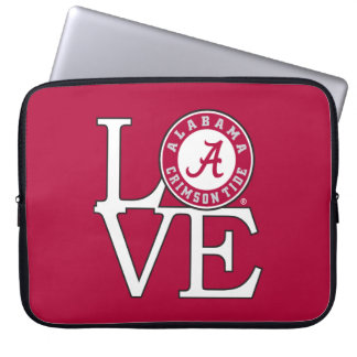 Alabama Crimson Tide Love Computer Sleeve