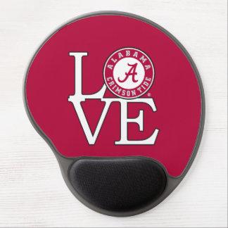 Alabama Crimson Tide Love Gel Mouse Pad