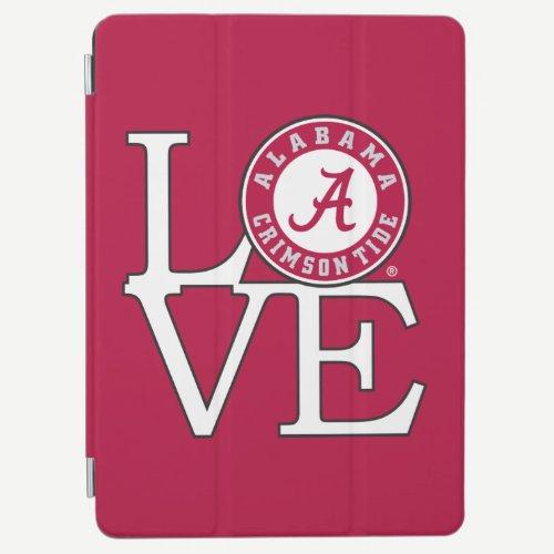 Alabama Crimson Tide Love iPad Air Cover