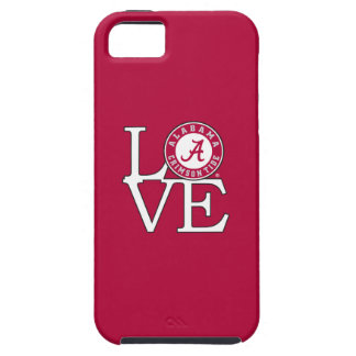 Alabama Crimson Tide Love iPhone SE/5/5s Case