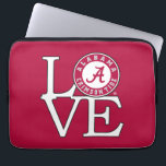 "Alabama Crimson Tide Love Laptop Sleeve<br><div class=""desc"">Check out these official Alabama Crimson Tide Logo products! Show your Crimson Tide pride by getting your Bama gear here. These products will allow you to take your Alabama spirit with you wherever you go!</div>"