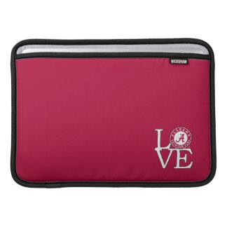 Alabama Crimson Tide Love MacBook Air Sleeve
