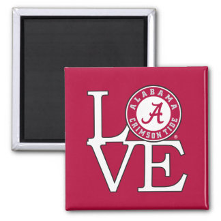 Alabama Crimson Tide Love Magnet