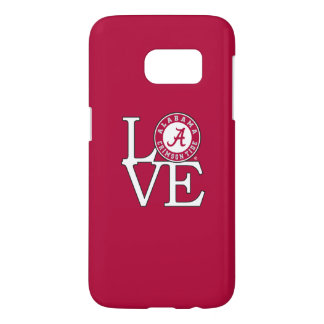 Alabama Crimson Tide Love Samsung Galaxy S7 Case