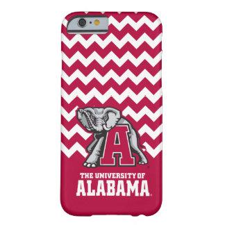 Alabama Crimson Tide w/ Big Al Barely There iPhone 6 Case