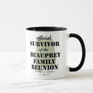 Alabama Custom Family Reunion Survivor (green) Mug