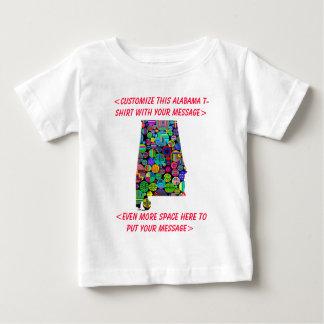 Alabama Customizable Colorful Election T-Shirt