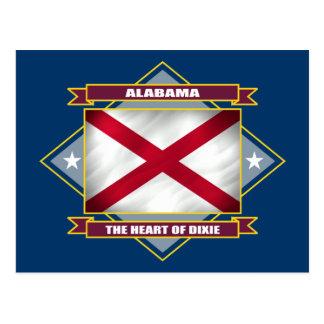 Alabama Diamond Postcard