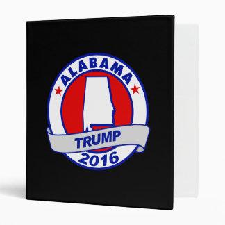 alabama Donald Trump 2016.png Vinyl Binder