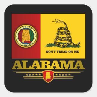 Alabama (DTOM) Pegatina Cuadrada