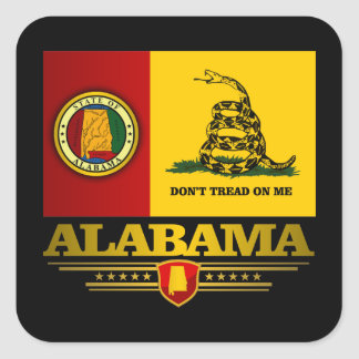 Alabama (DTOM) Square Sticker