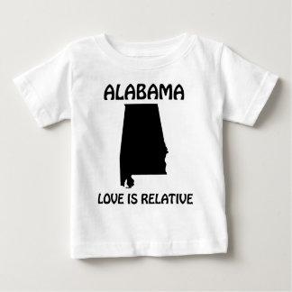 Alabama - el amor es relativo camisas