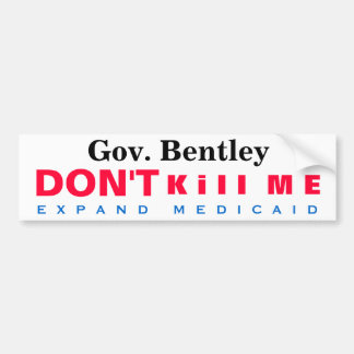 Alabama Expand Medicaid Me Bumper Stickers