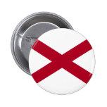 Alabama Flag 2 Inch Round Button