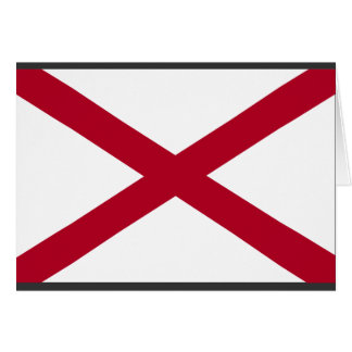 Alabama Flag Card