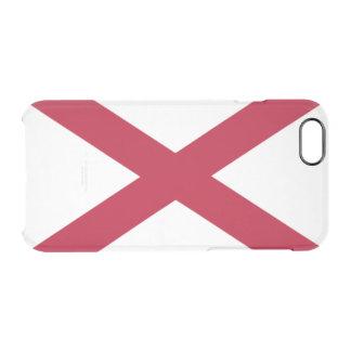 Alabama flag clear iPhone 6/6S case