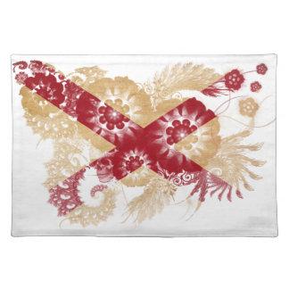 Alabama Flag Cloth Placemat