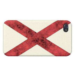 ALABAMA FLAG iPhone 4/4S CASES