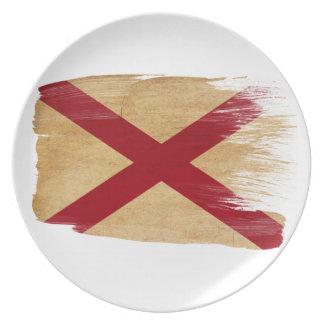 Alabama Flag Plate