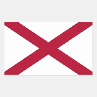 Alabama Flag Rectangular Sticker