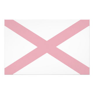 Alabama Flag Custom Stationery