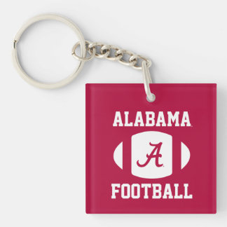 Alabama Football Keychain