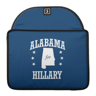 ALABAMA FOR HILLARY MacBook PRO SLEEVE