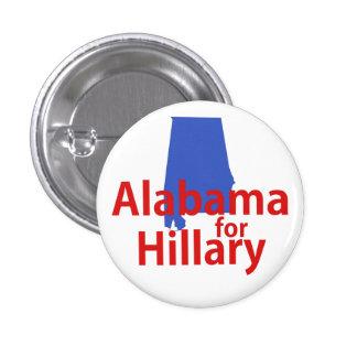 Alabama for Hillary Pinback Button