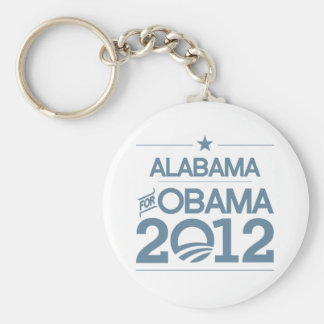 ALABAMA FOR OBAMA 2012.png Key Chain