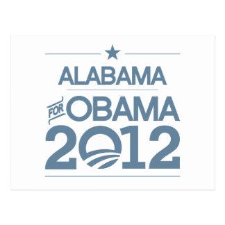 ALABAMA FOR OBAMA 2012.png Postcard
