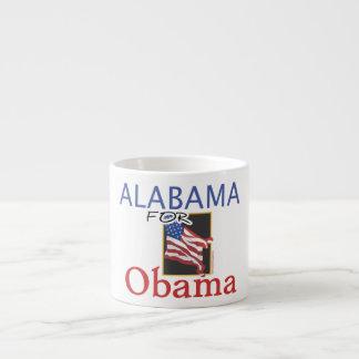 Alabama for Obama Election Espresso Cup