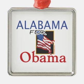 Alabama for Obama Election Metal Ornament