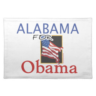 Alabama for Obama Election Placemat