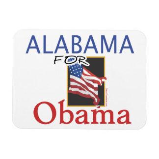 Alabama for Obama Election Rectangular Photo Magnet