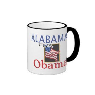 Alabama for Obama Election Ringer Mug