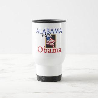 Alabama for Obama Election Travel Mug