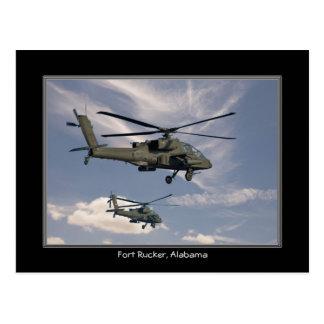 Alabama Fort Rucker Post Card
