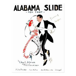 Alabama FoxTrot Postcard