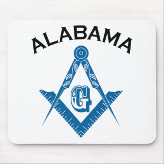 Alabama Freemason Mouse Pad