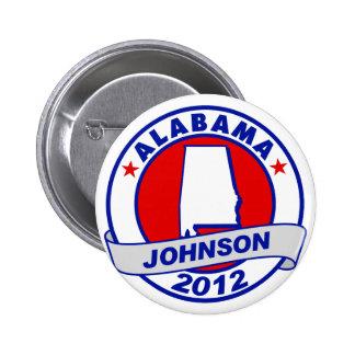 Alabama Gary Johnson Buttons