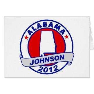 Alabama Gary Johnson Cards